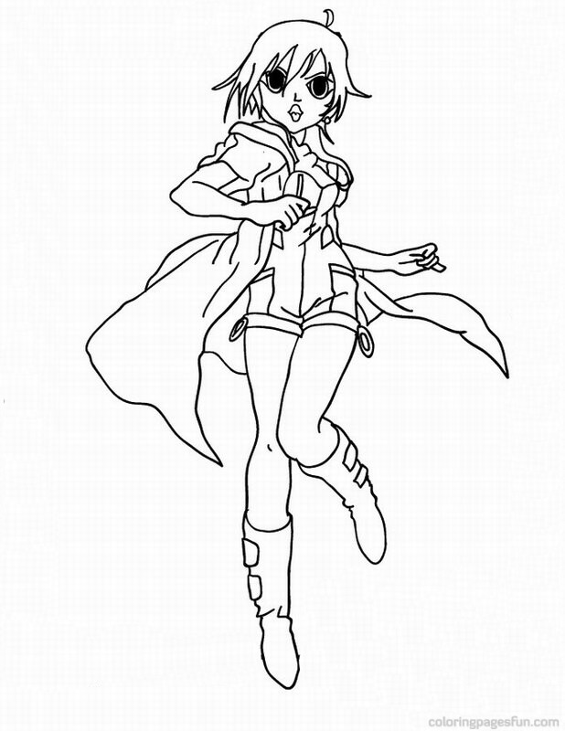 Bakugan Coloring Pages - Free Printable Coloring Pages ...