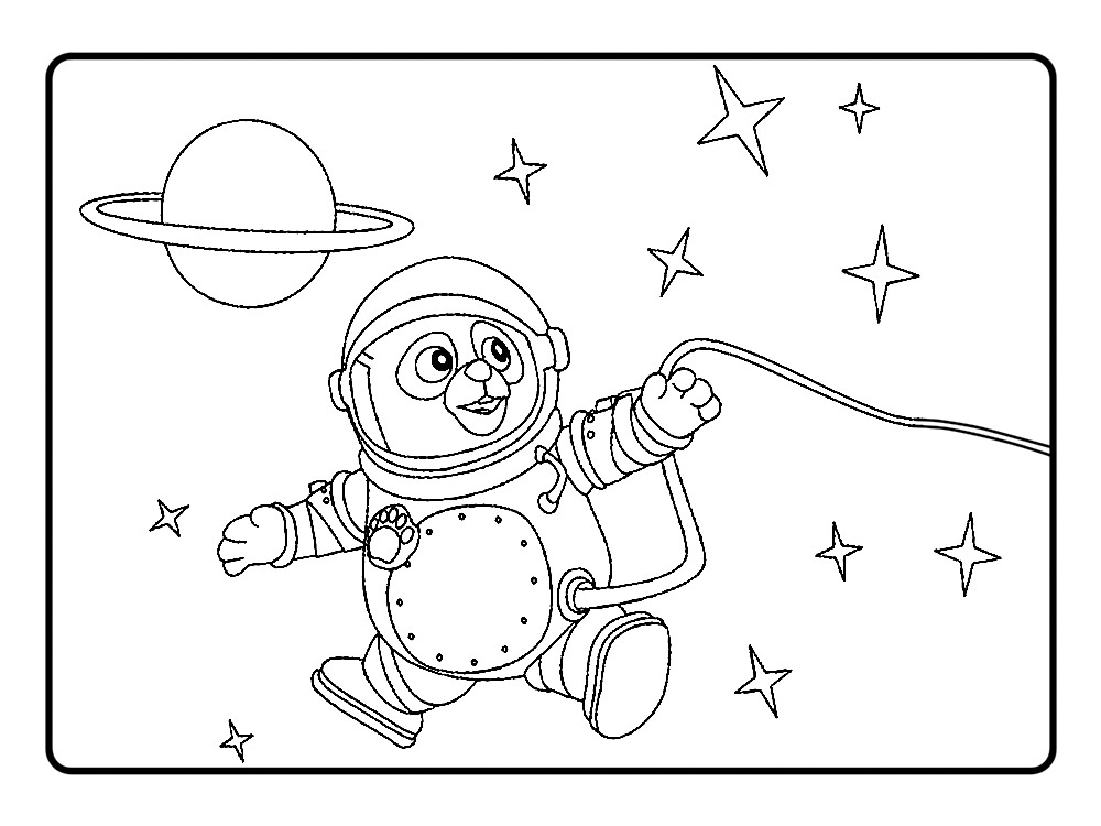 Agente Oso imprimibles Colouring Pages (page 3)