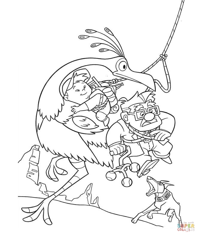 Saving Guys From Dogs Coloring Page | SuperColoring.com ...