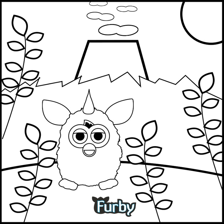 Swing, swing! Color, color! | Furby! | Pinterest