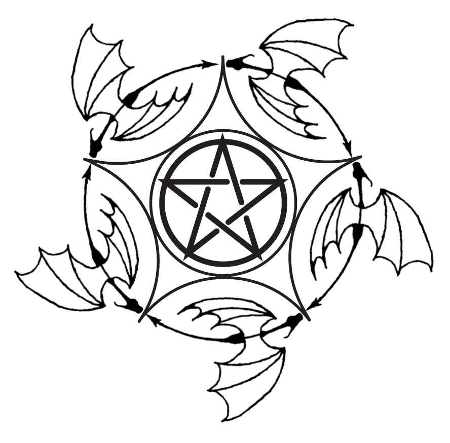 pentagram tattoos ~ Bred Southern Of Me