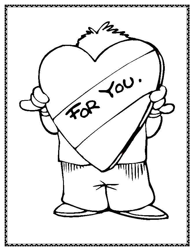 True Love Symbols Coloring Pages