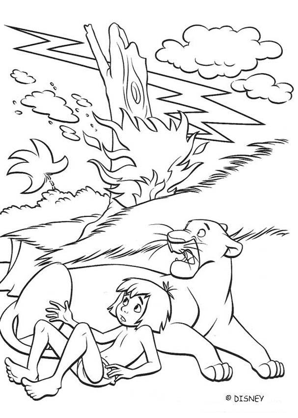 THE JUNGLE BOOK Original movie printables - COLONEL HATHI with MOWGLI