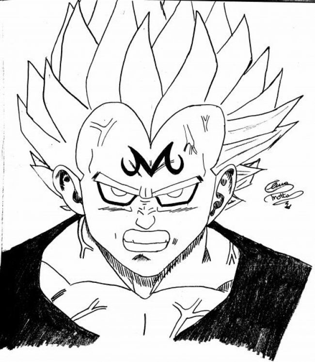 Disegni Di Dragon Ball Z Gogeta Tattoo