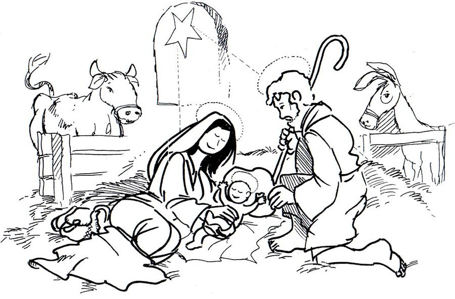 Presepios Colouring Pages (page 3)