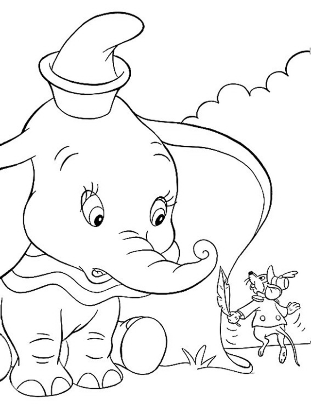 Pin by Bambini e Vacanze on Dumbo: Disegni da Colorare | Pinterest