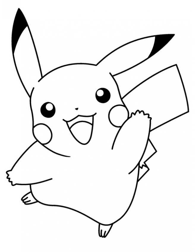 Stampa Disegno Pokemon Pikachu Colorare Wallpapers Pictures