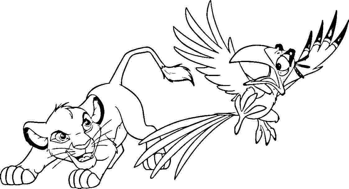 best lion king coloring pages - photo#31