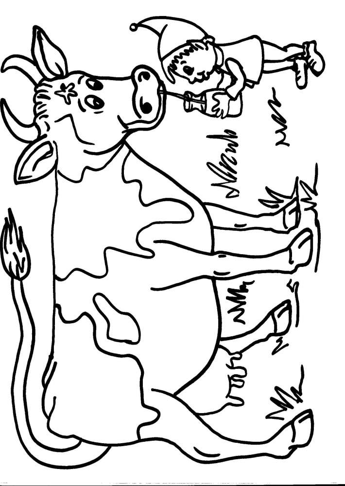 Disegni Per Bambini Blog Archive Mucche Images Pictures