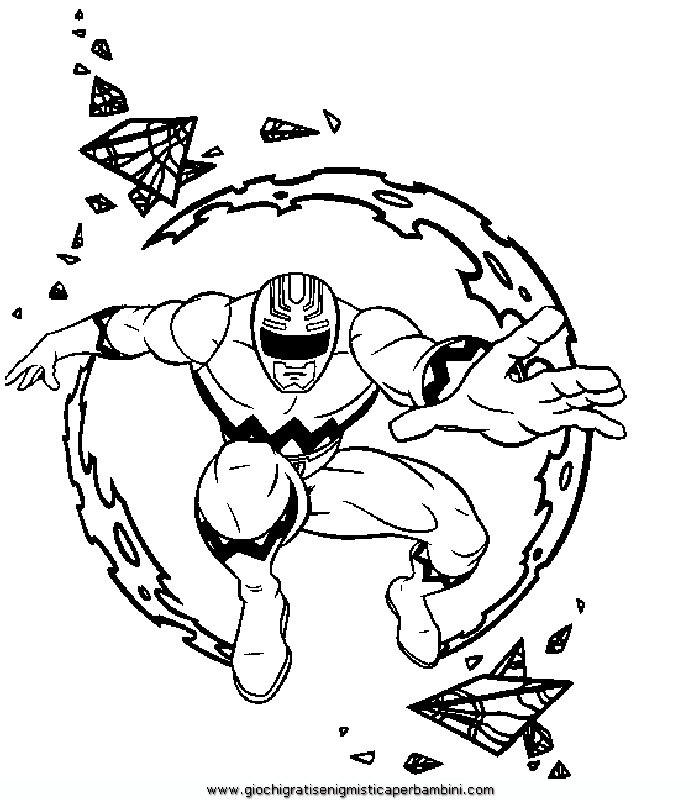 power ranger sheund Colouring Pages (page 2)