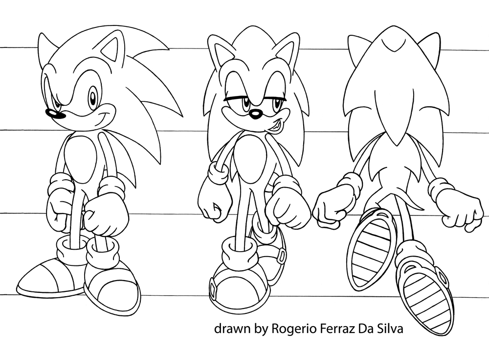 Sonic Running - Test Animation by rogferraz on deviantART