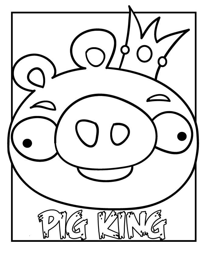 Angry Bird - Best Coloring Pages | Creative Coloring Pages