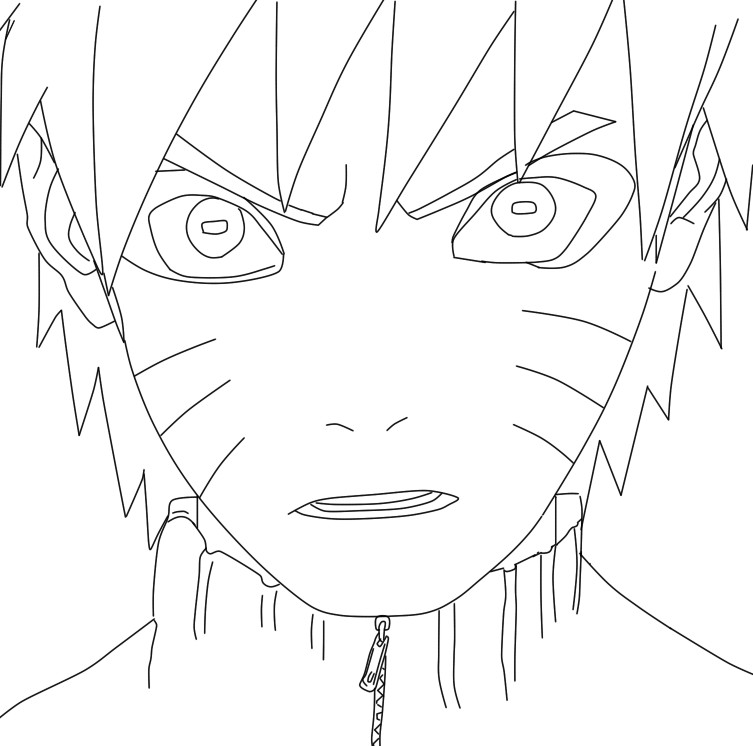 Naruto sage mode lineart by Salty-art on deviantART