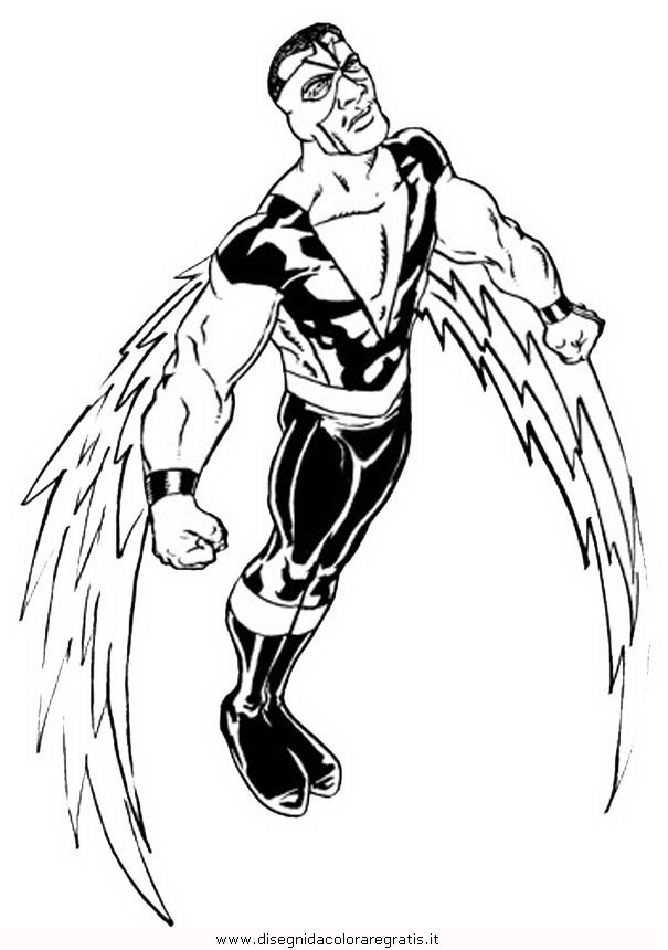 Captain Falcon Coloring Pages