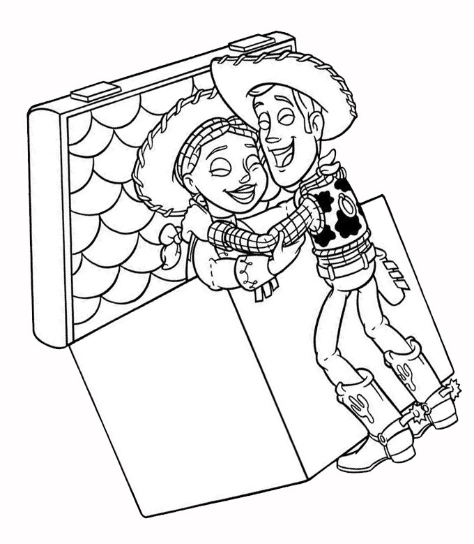 Toy story - Printable coloring pages - Coloring Pages | Wallpapers ...