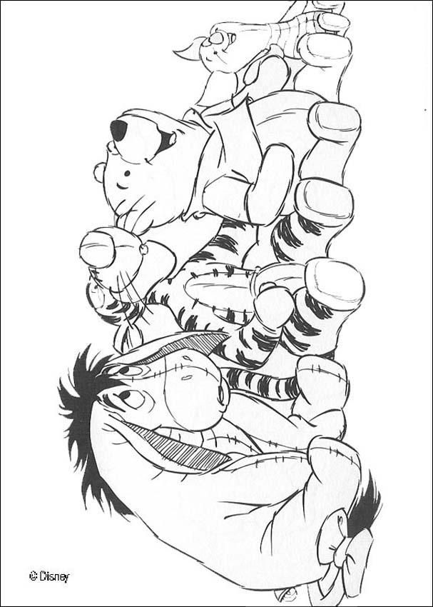 eeyore coloring pages