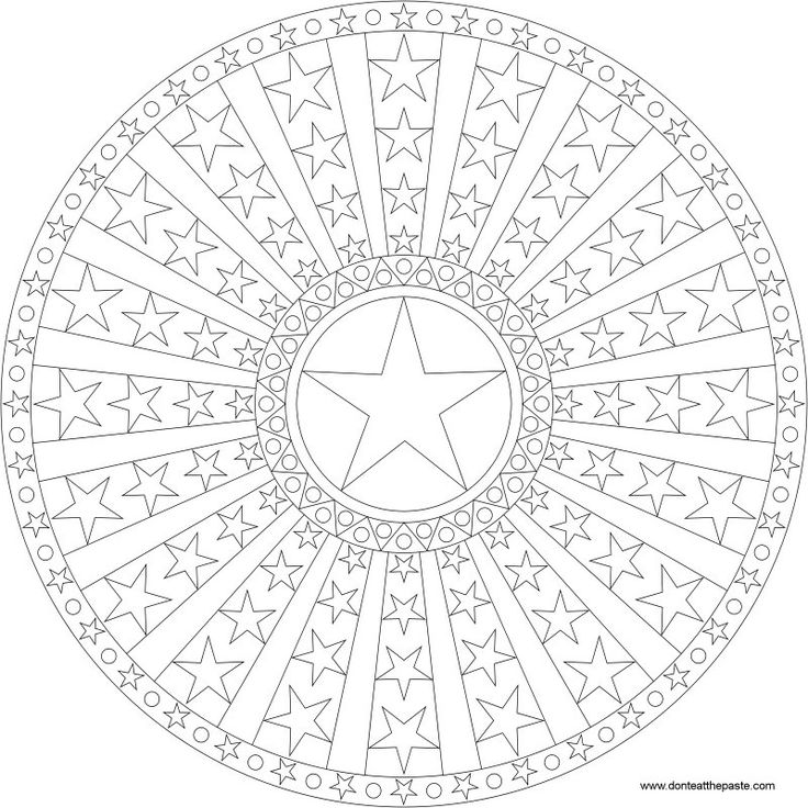 Color stripes az colorare for Stars and stripes coloring pages