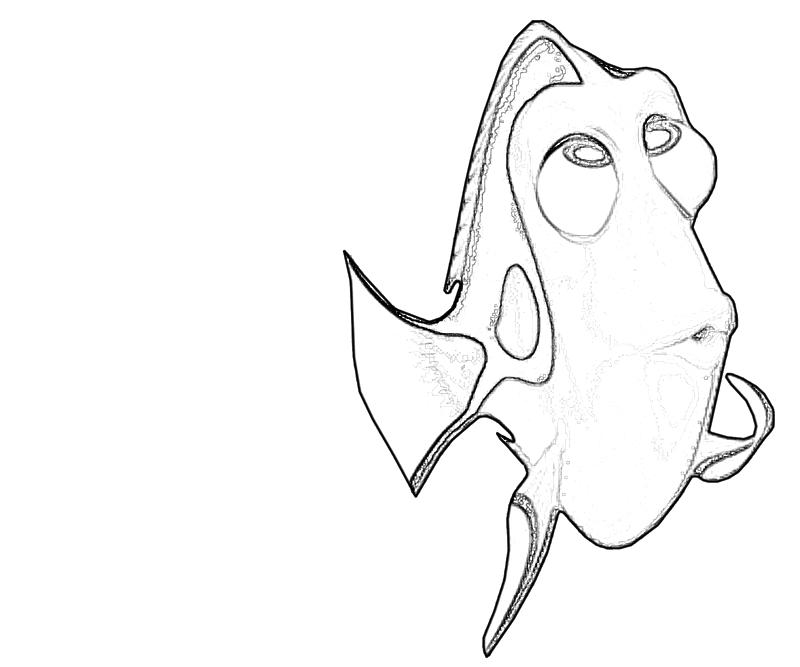 Dory Fish Drawing Images & Pictures - Becuo