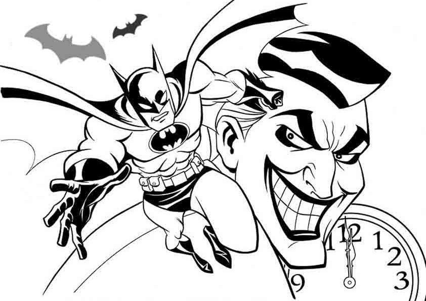 símbolo+do+Batman Colouring Pages
