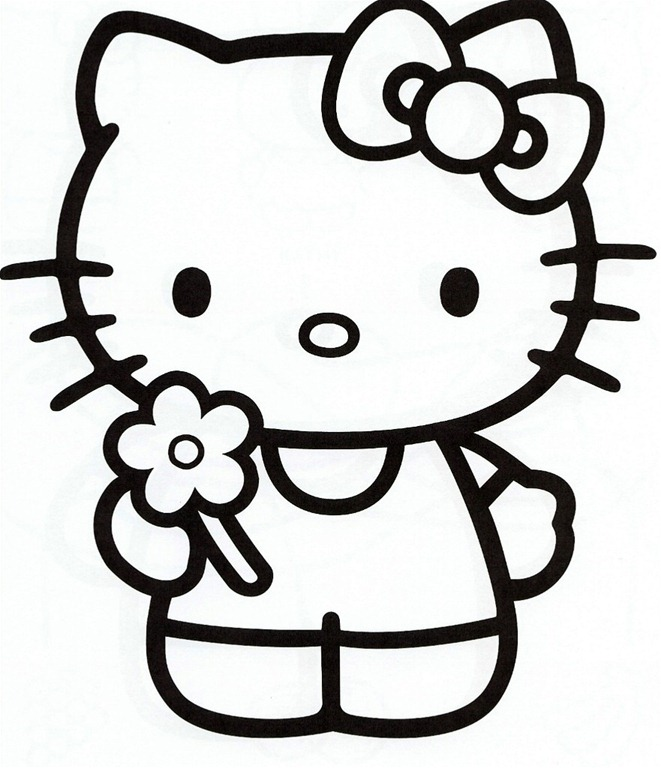 Hello Kitty Pictures To Print Out