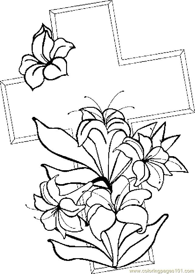 Stations Of The Cross Printable Coloring Pages - AZ Coloring Pages
