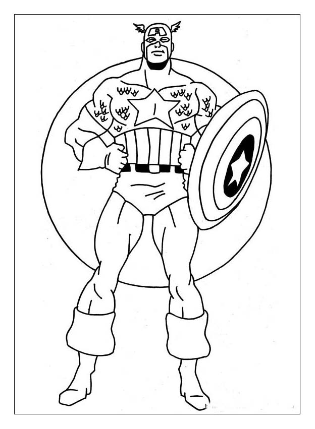 Captain_america_coloring_pages ...