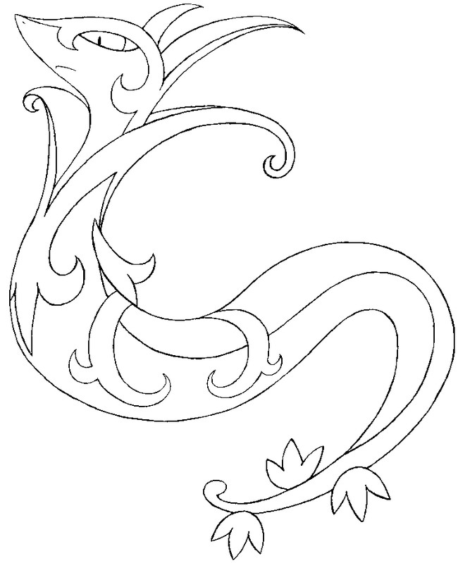 Pin Coloriage Pokemon Version Tattoo Pictures To Pin On Pinterest ...