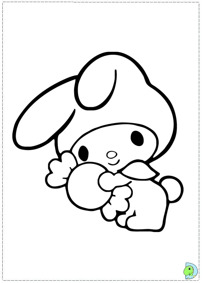 Malode Colouring Pages