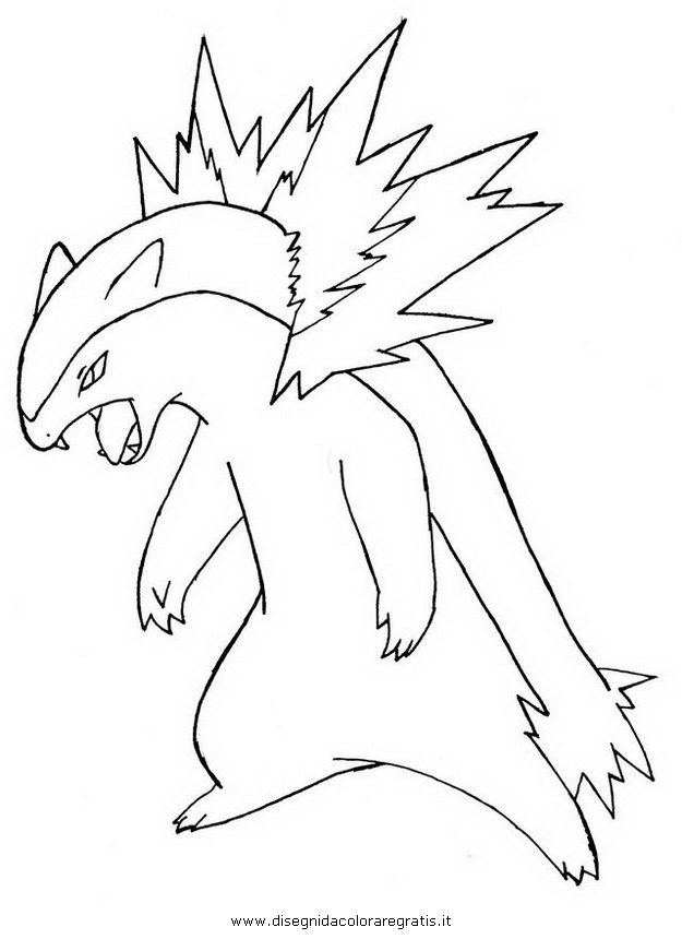 quilava pokemon coloring pages - photo#24
