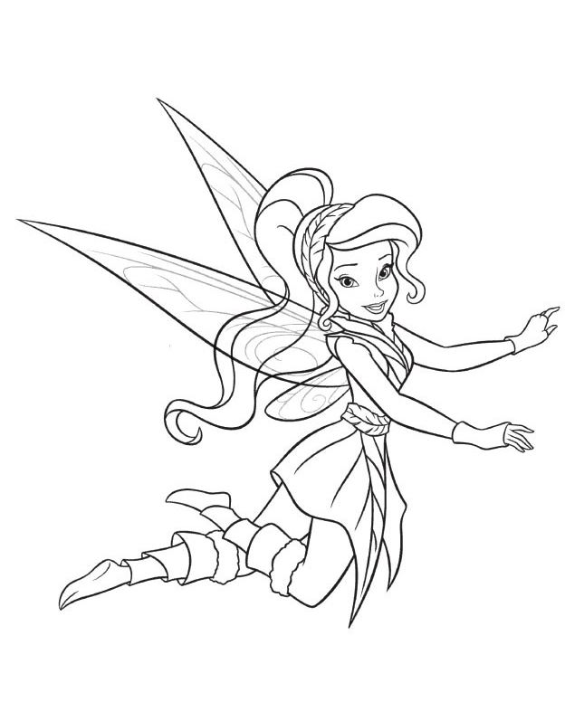 Disney Vidia The Fairy Coloring Pages - Tinkerbell Coloring Pages ...