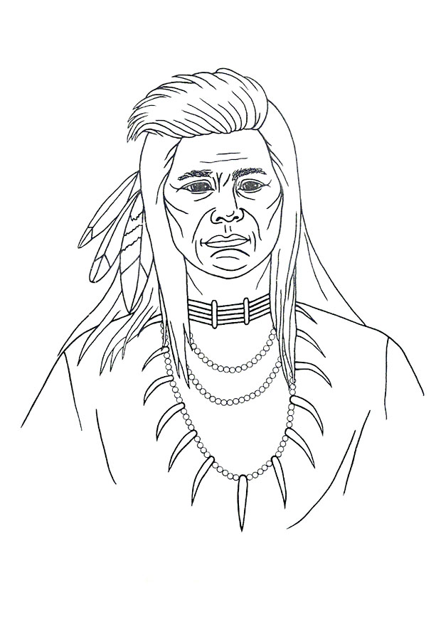 iroquois Colouring Pages (page 2)