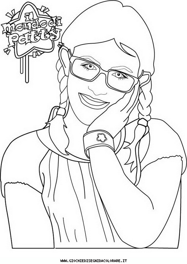 ilil mondo di patty Colouring Pages