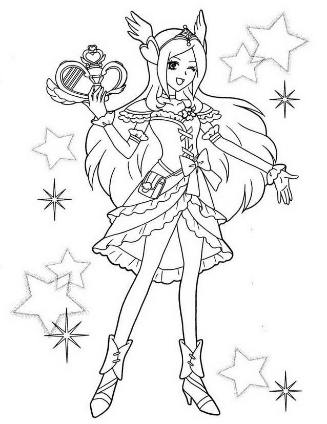 Pretty cure da colorare | DisegniDaColorare.