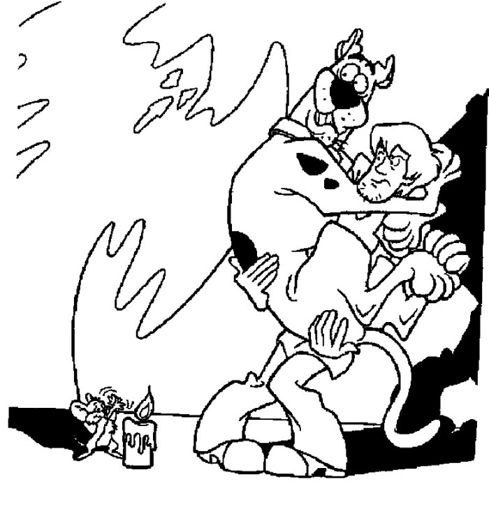 scrappy coloring pages - photo#9