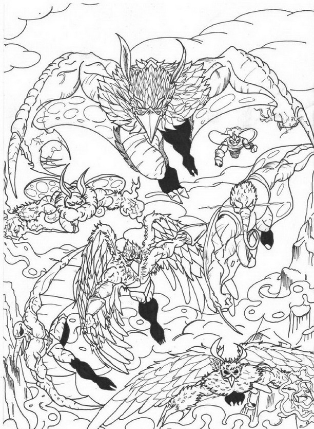 carta o Colouring Pages
