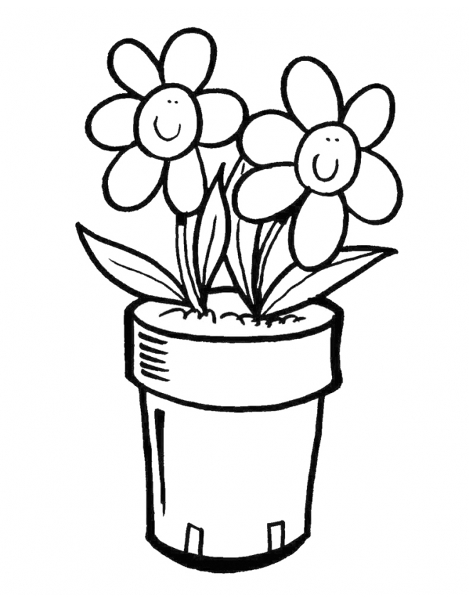 Pin Disegno Di Vaso Fiori Da Colorare 660x847jpg on Pinterest