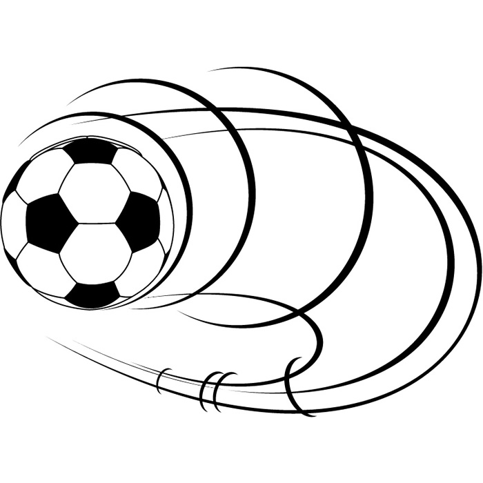 Spinning Calcio Wall Sticker Sport Adesivo Art | eBay