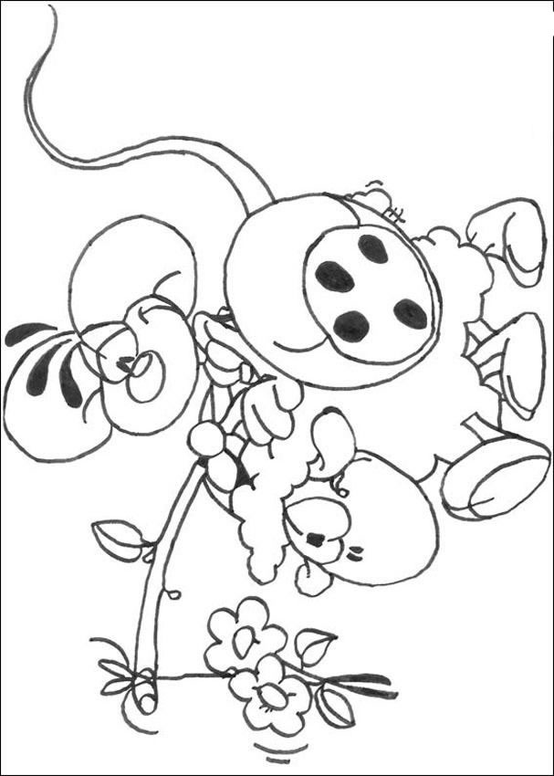 Pin Diddl Coloring Pages With Sheep Cake on Pinterest