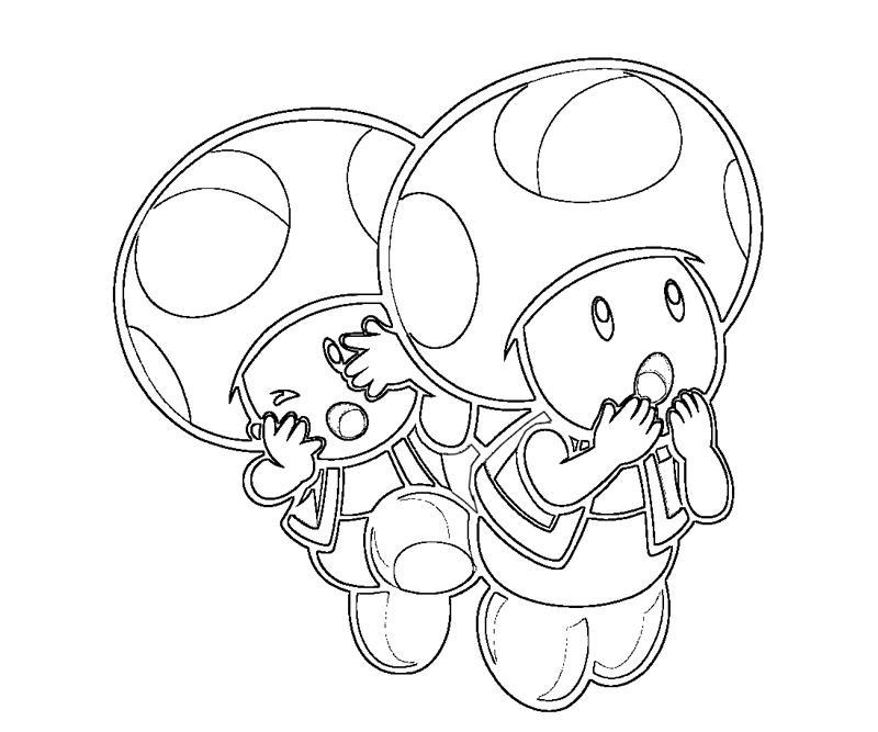 captain toad coloring pages - photo#15