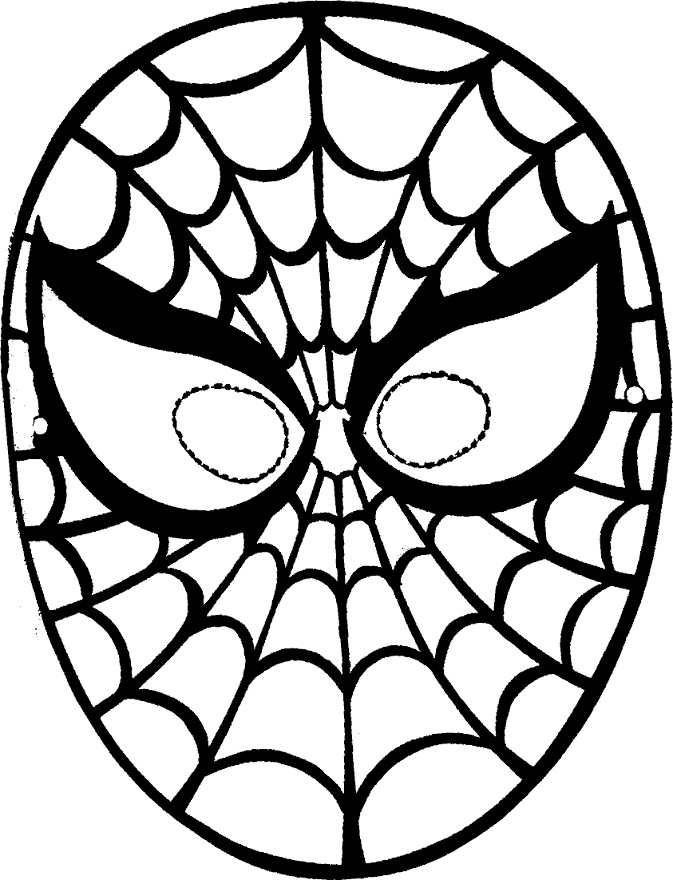 Masks | Free Coloring Pages - Part 2