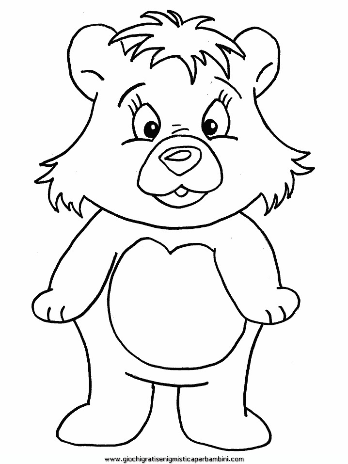 Orso Disegno Disegni Da Colorare Imagixs Pictures to like or share ...