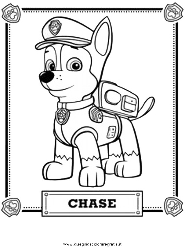 ryder from paw patrol Colouring Pages (page 3)
