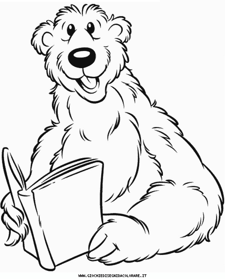 Disegni Da Colorare Bear Orso Bear10 Jpg Pictures to like or share ...