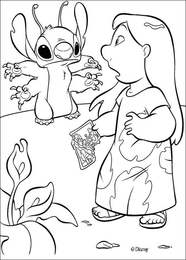Páginas para colorir Lilo and Stitch - Lilo e o extras-terrestre ...