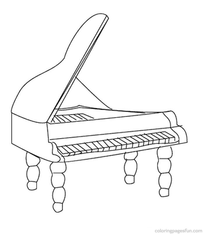 Musical Instruments Coloring Pages 50 - Free Printable Coloring ...