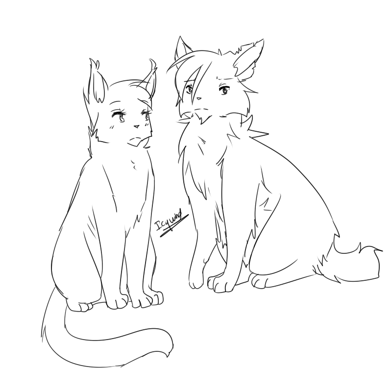 Sketch/lineart requests???[CLOSED] | Erin Hunter Community