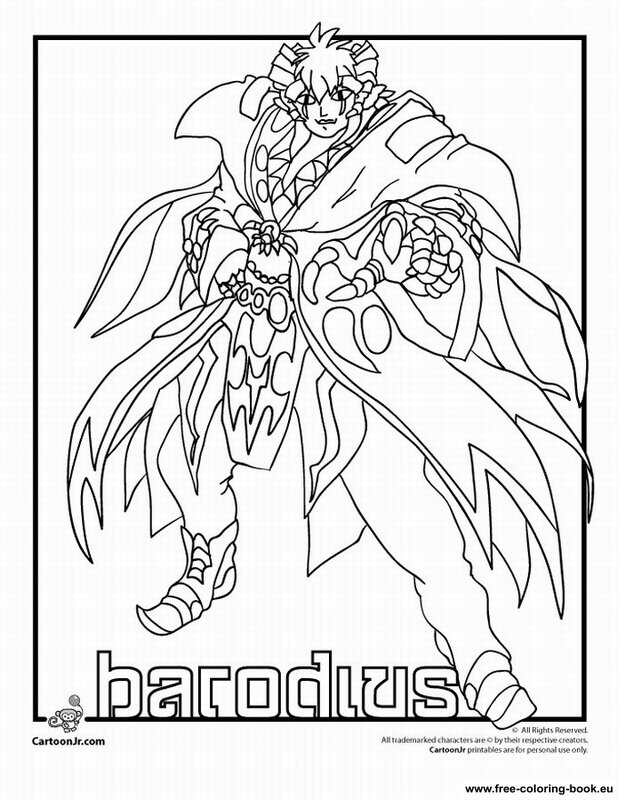 Coloring pages Bakugan Battle Brawlers - Printable Coloring Pages ...