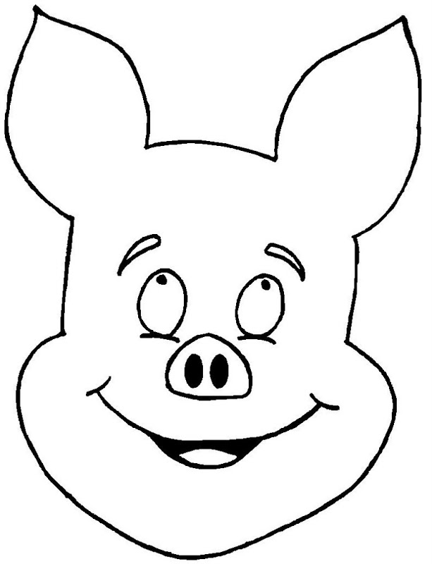 Pig mask coloring pages | Coloring Pages