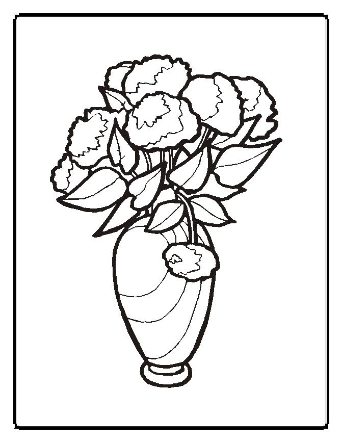 coloring pages of flowers | Maria Lombardic