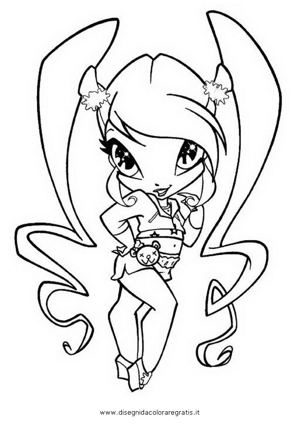 pixie amore Colouring Pages